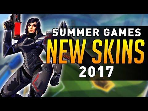 Overwatch - Summer Games 2017 SKINS DATAMINED!