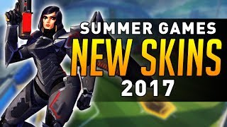 Overwatch - Summer Games 2017 SKINS DATAMINED! 2017 Video