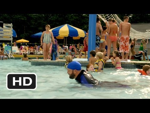 Grown Ups #5 Movie CLIP - Peeing in the Pool (2010) HD