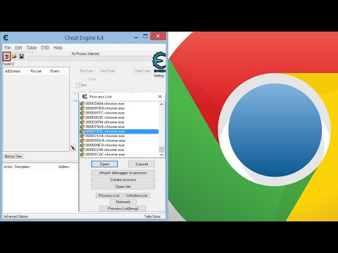 Cheat Engine: Finding The Right Chrome Process