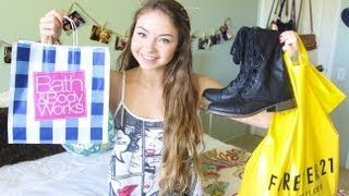 Back to School Clothing Haul + Giveaway!