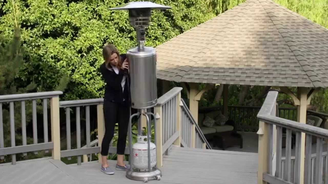 Garden Radiance Stainless Steel Patio Heater Gs4400 Youtube