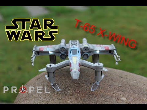 Candid Camera Star Wars : Star wars propel drone x wing t 65 review test vol pour les