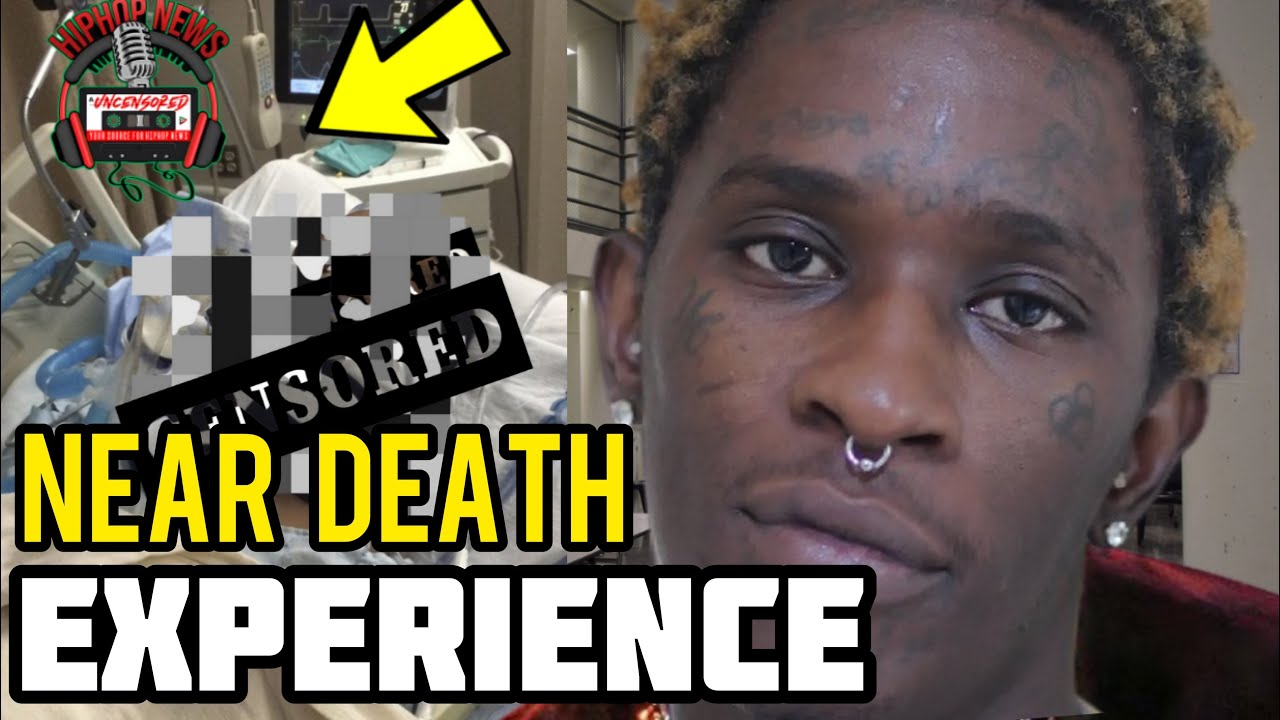 Young Thug Lucky To Be Alive After Going Hard With The Lean!