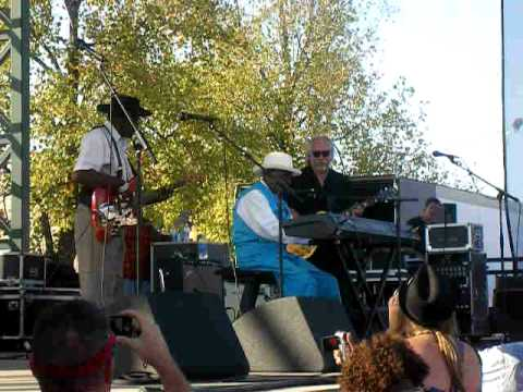 Willie Pinetop Perkins - at the King Biscuit Oct. 2010