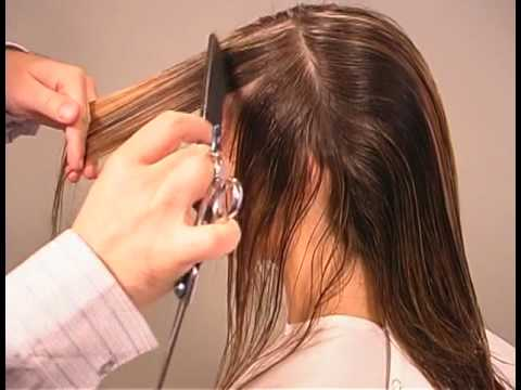 Hair Style Youtupe : Long Graduated Layered Haircut - YouTube