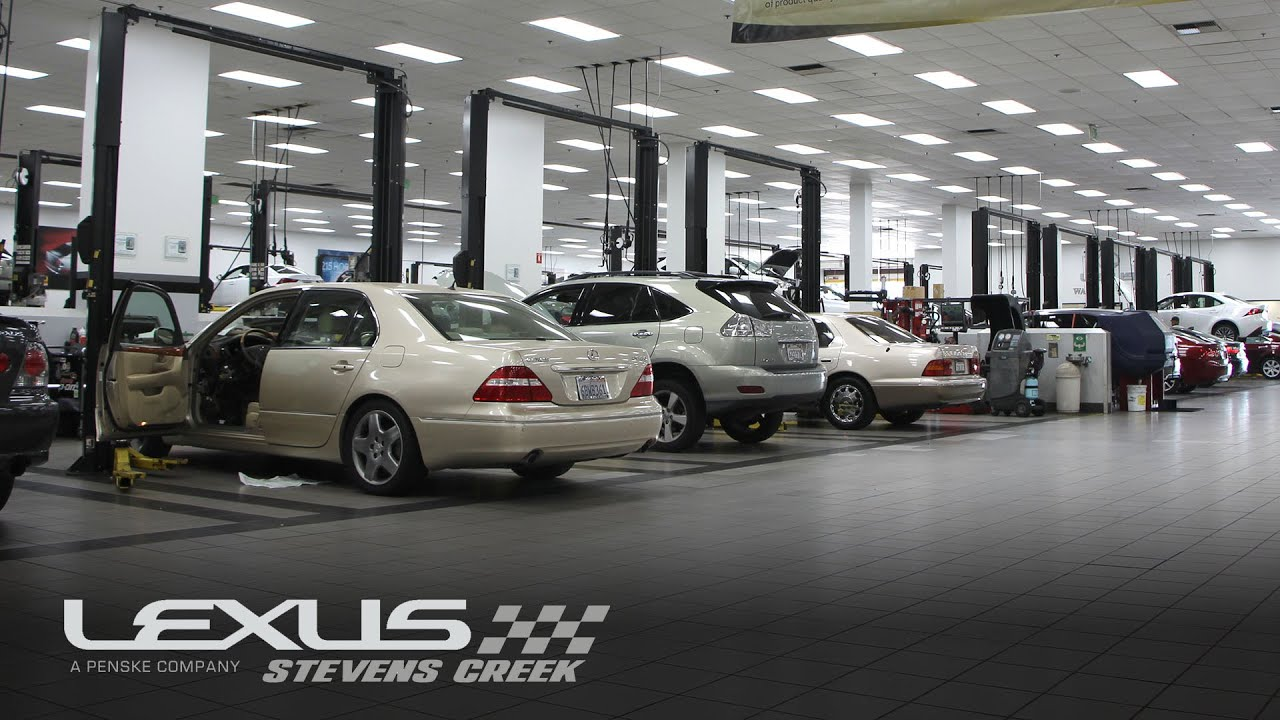 Stevens Creek Bmw Service >> Lexus Service Department Automotive Service San Jose