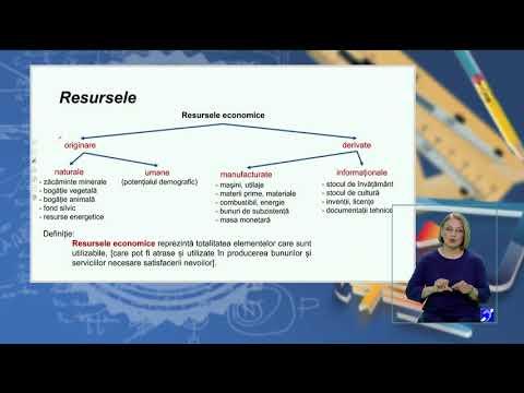 TeleŞcoala: Economie clasa a XII-a–Nevoi, resurse. Legea rarităţii resurselor.Costul de oportunitate