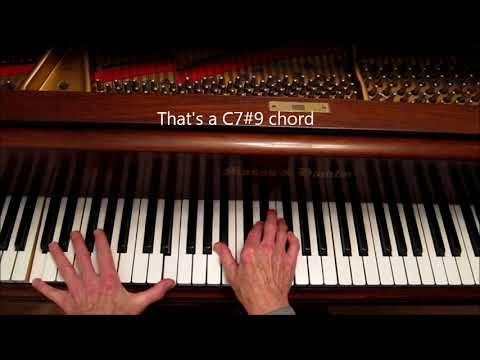 "BIG RICH CHORDS, How to play 10ths in Left Hand, ""Peace"", Horace Silver."