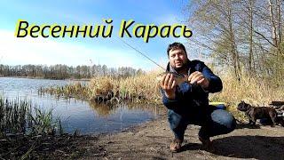 Фидерная рыбалка в начале мая Ловля Карася в Воронеже