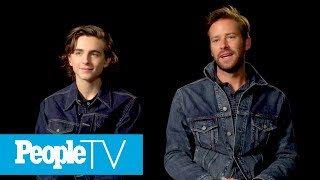 Armie Hammer On How His Daughter Gets Along With His New Baby Boy | TIFF 2017 | Entertainment Weekly