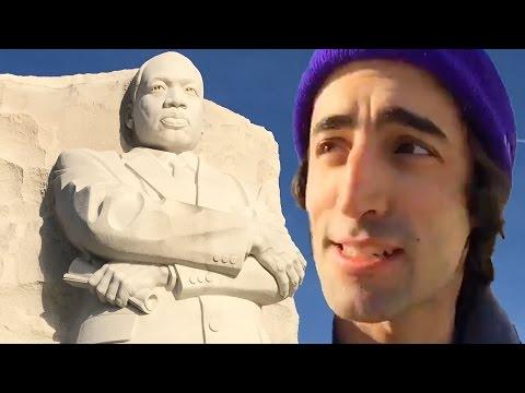 MLK Basic Income Action Live @ MLK Memorial Washington, DC (Part 1)