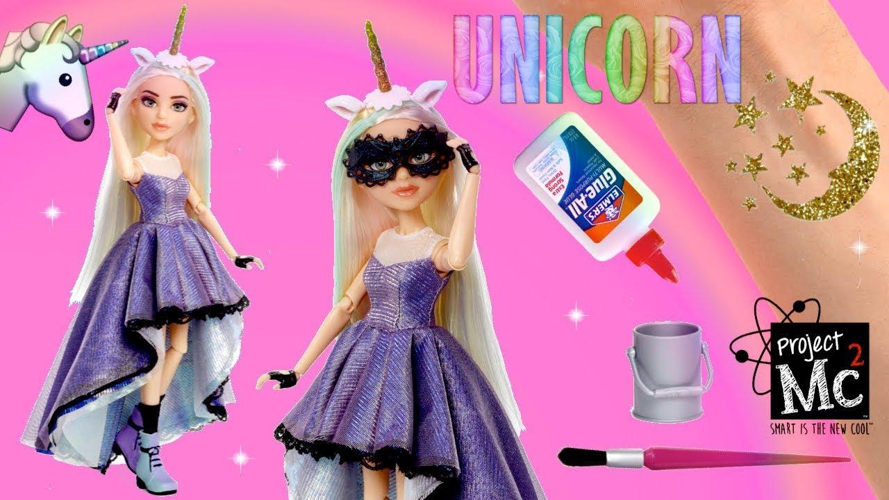 Muñeca Vestido de Unicornio Project Mc2 - Experimento Tatuajes ...