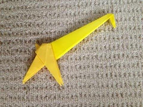 簡単 折り紙 折り紙 キリン : youtube.com