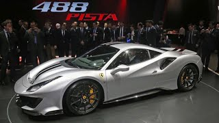 NEW Ferrari 488 Pista - First Look
