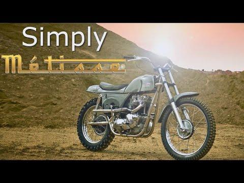 Cafe Racer / Scrambler (Triumph Metisse Desert Racer)