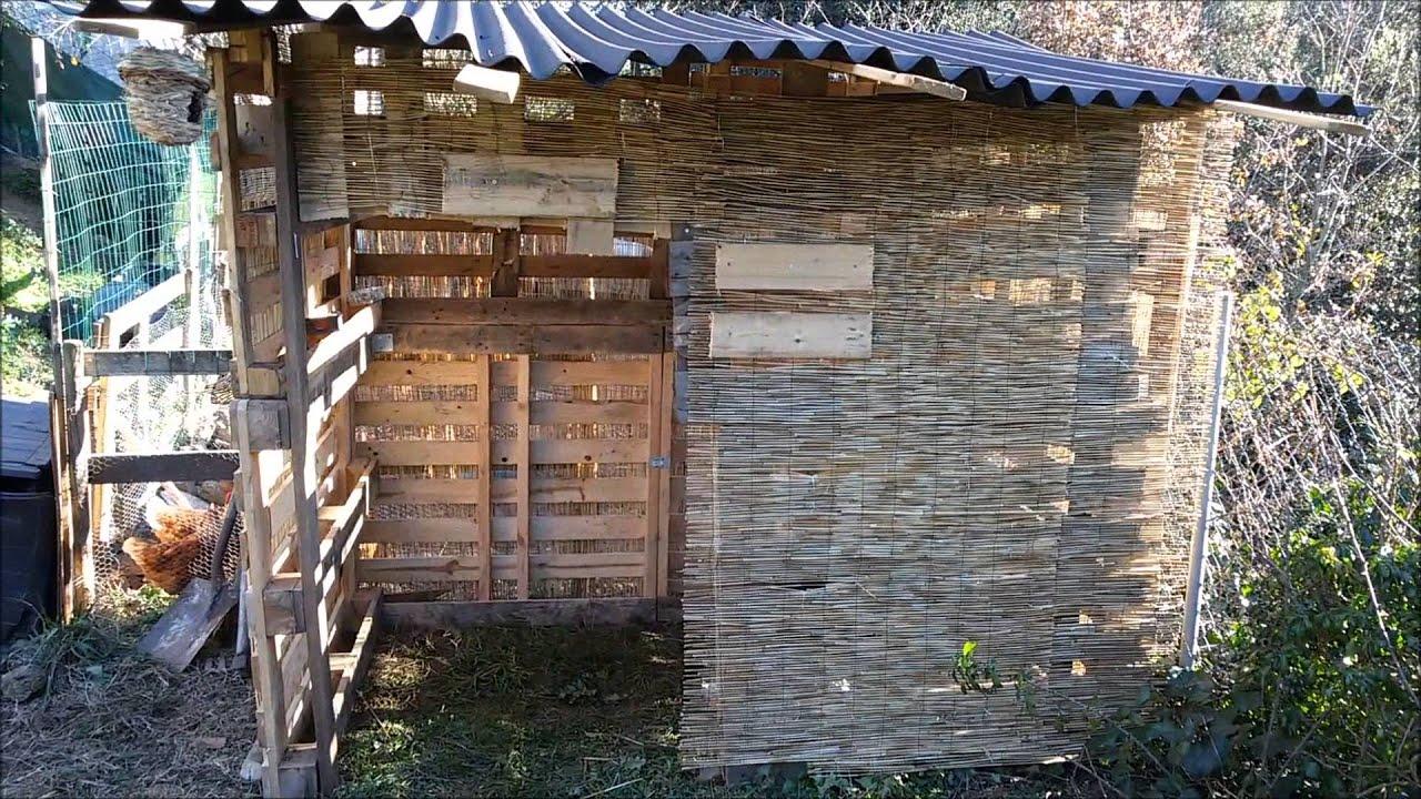 Establo palets cabras enanas youtube for Cosas con tarimas de madera