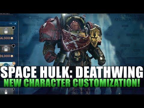Space Hulk: Deathwing - Character Customization