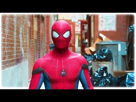 "Spider man Homecoming ""Friendly Neighbourhood Spiderman"" Movie Clip (2017) Superhero Movie HD"