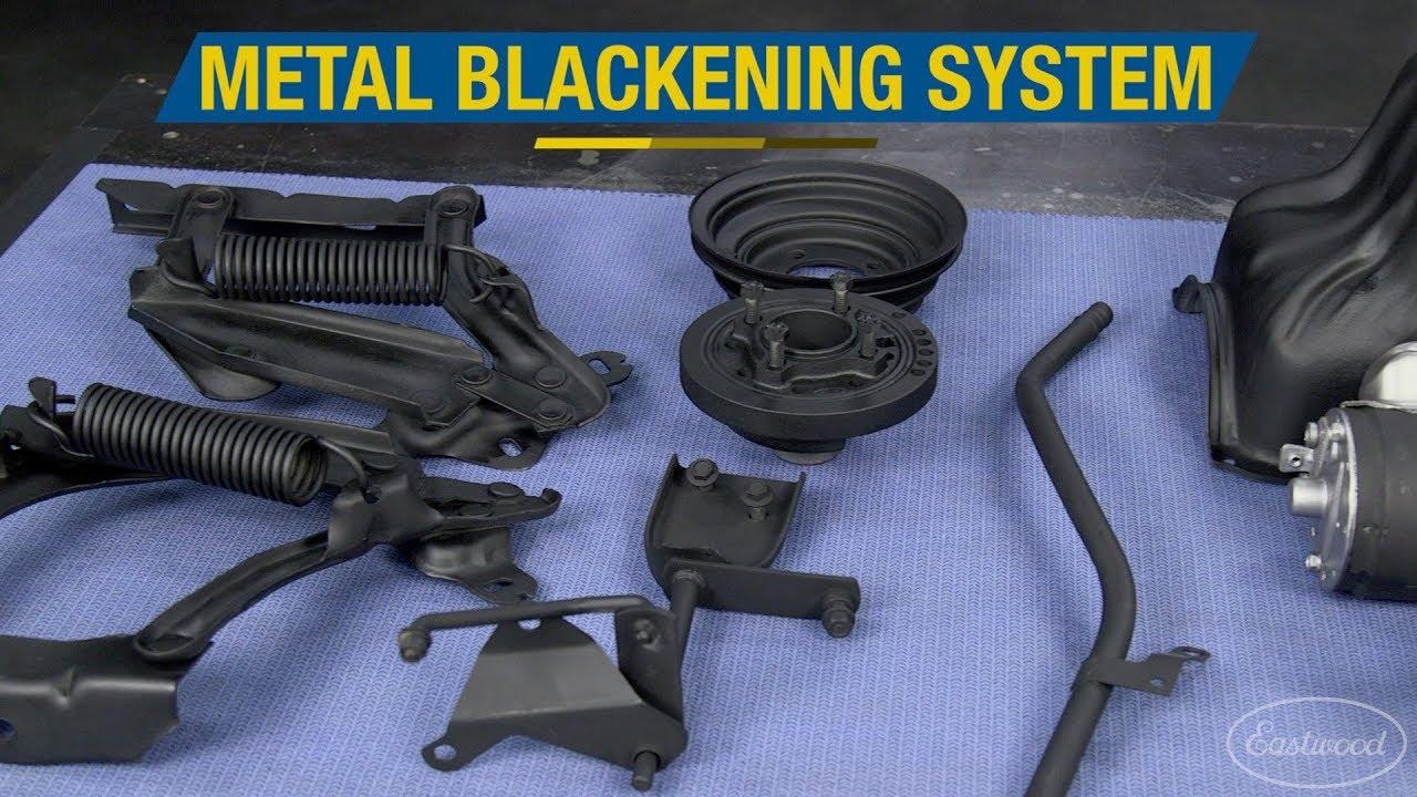 Black Oxide Coating Stripping