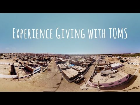 Experience the TOMS Virtual Giving Trip
