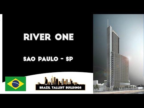 Brazil Tallest Buildings | River One | São Paulo - SP