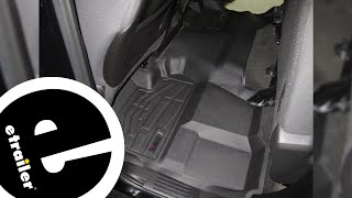 Westin Sure-Fit 2nd Row Floor Mat Review - 2015 Chevrolet Silverado 1500