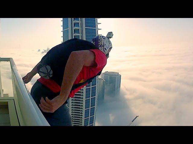 Skočio je sa 200 metara visokog nebodera u gustu maglu… Ovako nešto nikada nisam vidio!
