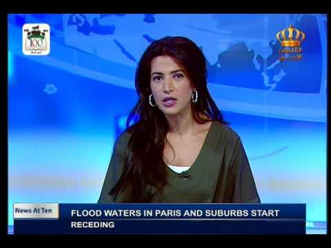 English News At Ten on Jordan Television 04-06-2016