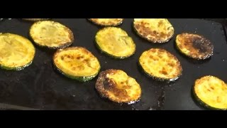 How To Make Low Carb Courgette (zucchini) Crisps (chips), Quick Diabetic Snack Recipe