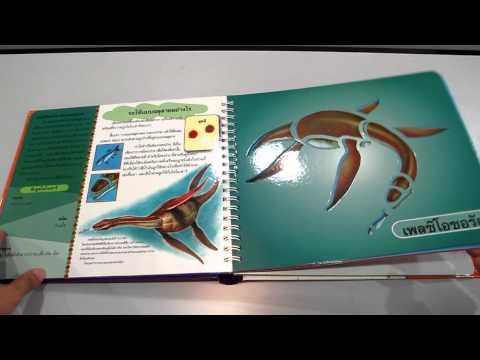 ไดโนเสาร์ หนังสือฉลุลาย www.KidsbookThailand.com