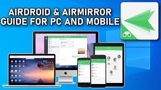 AirMirror and AirDroid for Android and Windows Guide 2020 screenshot 3