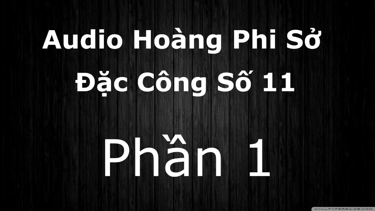 Hoàng Phi Sở Đặc Công Số 11 Audiobook Phần 1