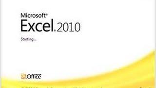 مفاجأة : شرح Excel 2010 من البداية حتى الإحتراف فى فيديو واحد