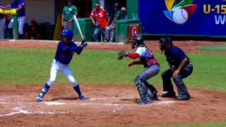 Highlights: Chinese Taipei v Cuba - U-15 Baseball World Cup 2018