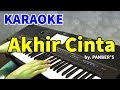 AKHIR CINTA - Panber's | KARAOKE HD