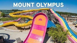 Water Slides at Mount Olympus Wisconsin Dells (GoPro POV)