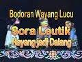 Sora Leutik Hayang Jadi Dalang Bodoran Wayang Golek video