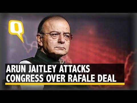 Arun Jaitley Attacks Rahul Gandhi Over Rafale Deal