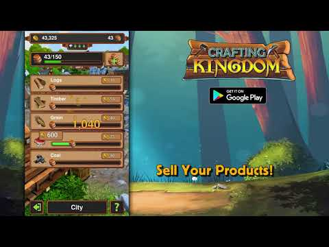 ApkMod1.Com Crafting Kingdom v1.19.209 + MOD (Mod Money) download free Android Game Simulation