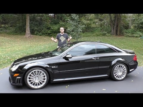 Вот почему Mercedes CLK63 Black Series - это лучшая машина AMG