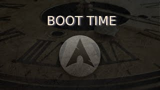 Optimize Boot in Arch Linux