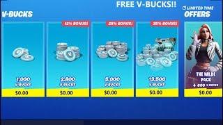 *WORKING* FREE V-BUCKS GLITCH IN FORTNITE SEASON 10! Free V-Bucks In Fortnite!