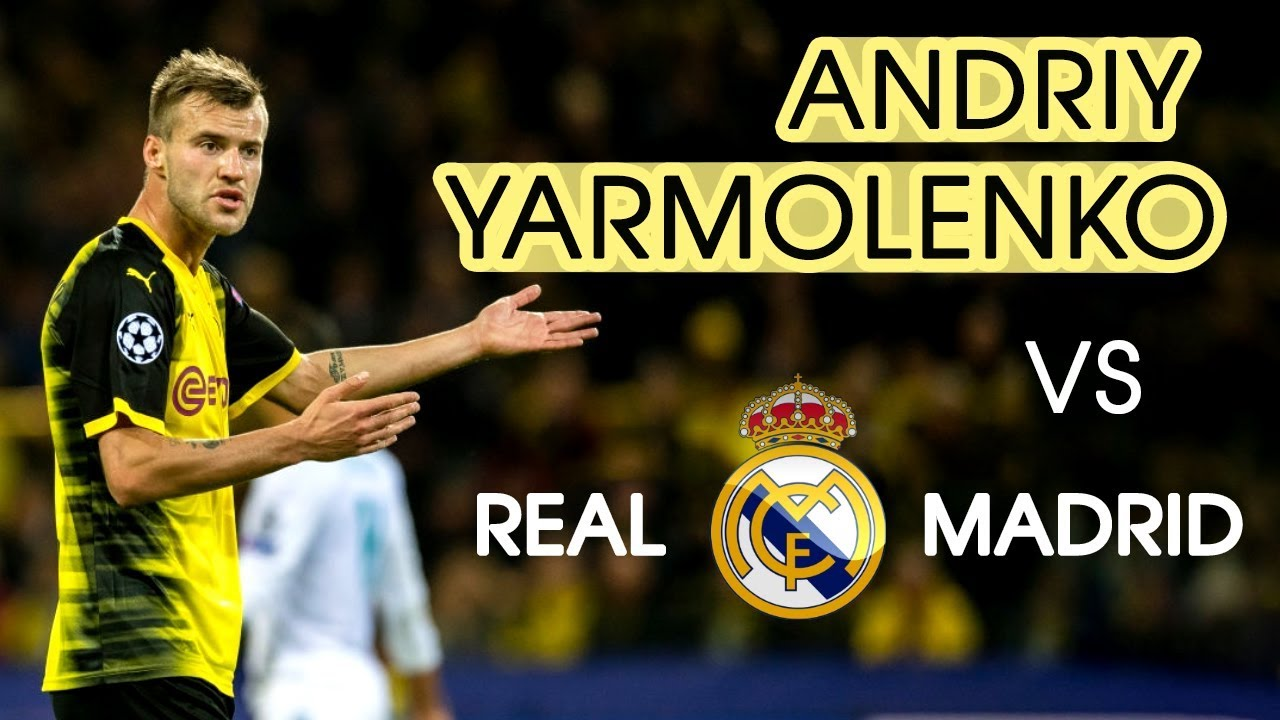 Andriy Yarmolenko vs Rеаl Mаdrid ☆ Away ☆ Skills ☆ 26 09 2017