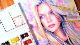 Speed Painting Watercolor : Wonder