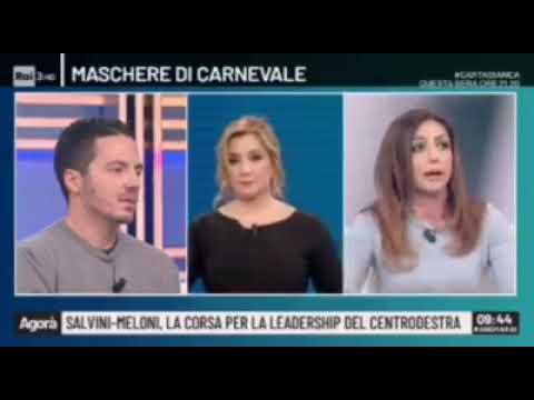 La sardina attacca Giorgia Meloni. Ecco come viene smontata da Augusta Montaruli