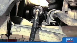 SKF - montáž manžety řízení (CZ)