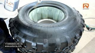 Монтаж диска на шину низкого давления AVTOROS(Видеосюжет демонстрирующий последовательность сборки и монтажа алюминиевого диска АВТОРОС на шину низког..., 2014-05-15T12:31:35.000Z)