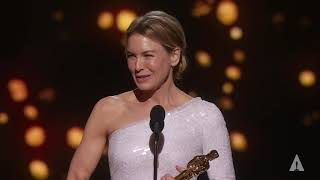 Renée Zellweger wins Best Actress
