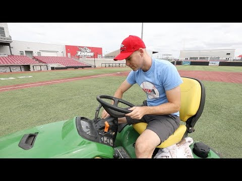 Private tour of AirHogs Stadium in Grand Prairie, Texas